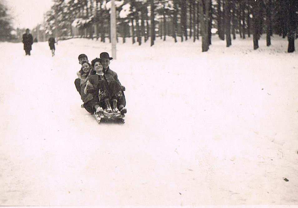 Alte Winterfotos: 22. November 1942