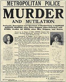 Murder Maps: Dr. Crippen