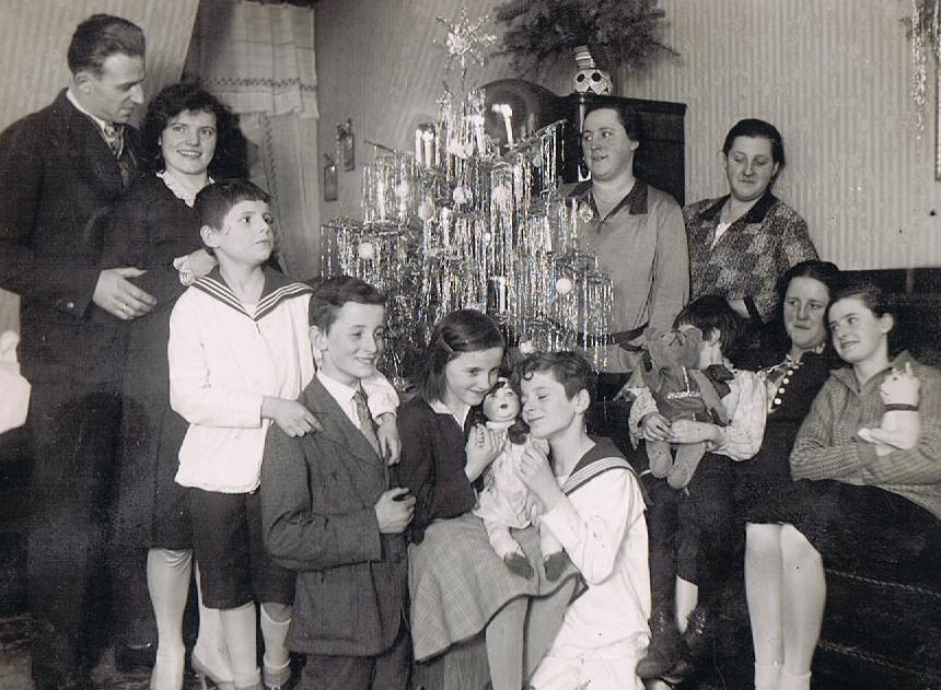 Alte Weihnachtsfotos