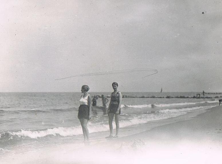 Alte Sommerfotos: Am Strand 1935