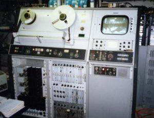 Videokassetten: Quadruplex-Videorekorder Ampex VR2000