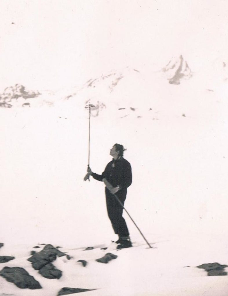 Alte Winterfotos: Arlberg