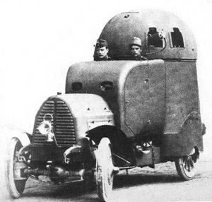 Austro Daimler Panzerwagen (Prototyp)