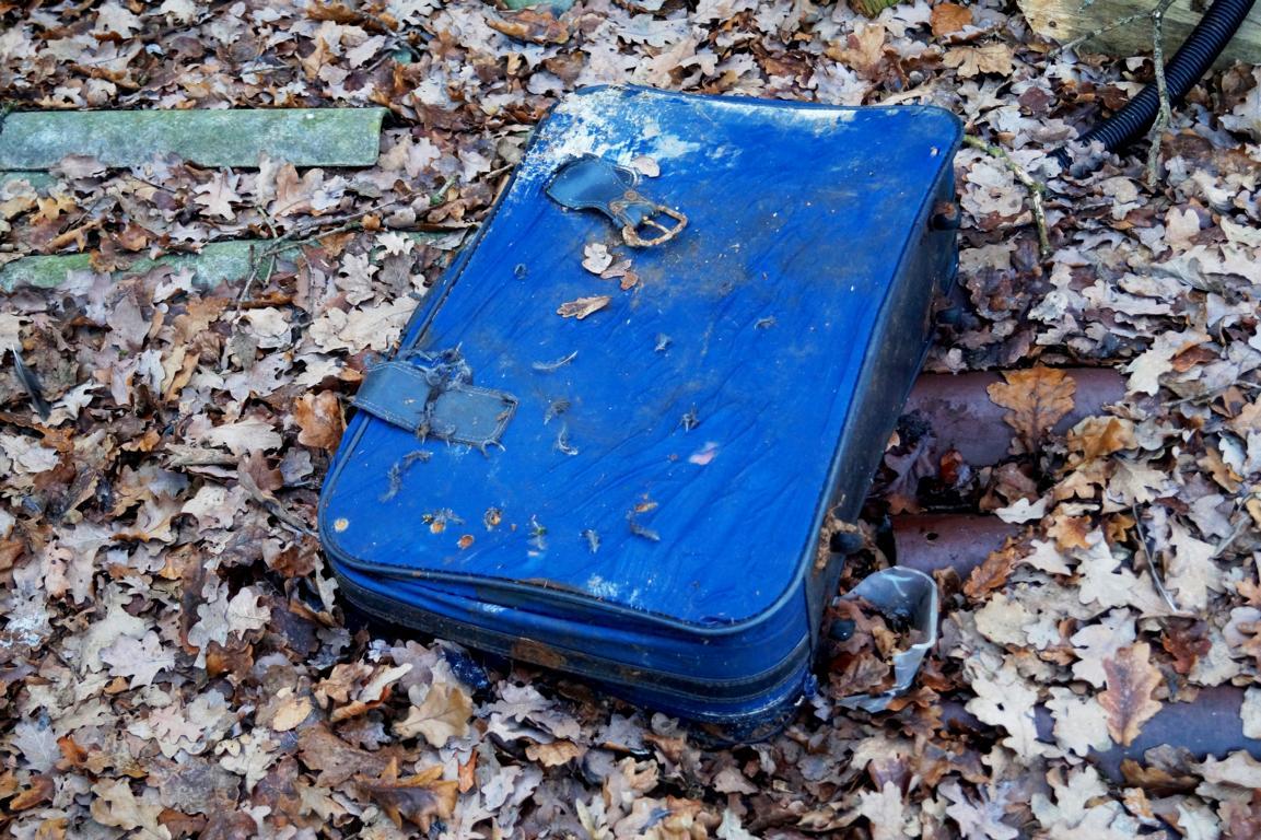 Vergessen: Alter Koffer