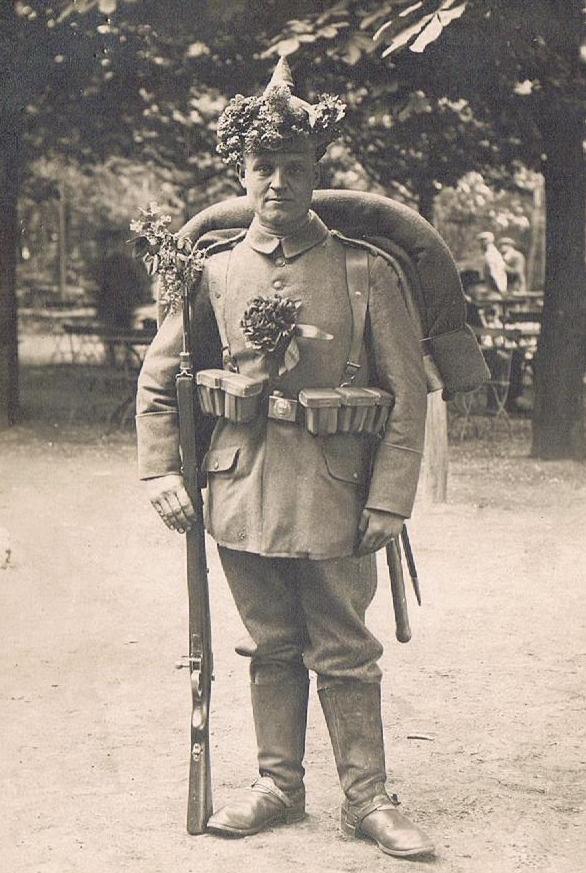 Bildergeschichte: Erster Weltkrieg