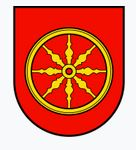 Wappen mit Gegenständen
