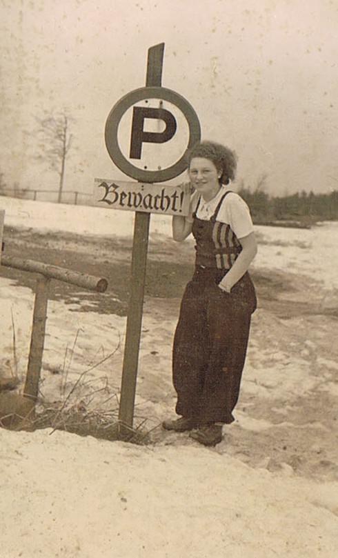Alte Schilder, alte Fotos