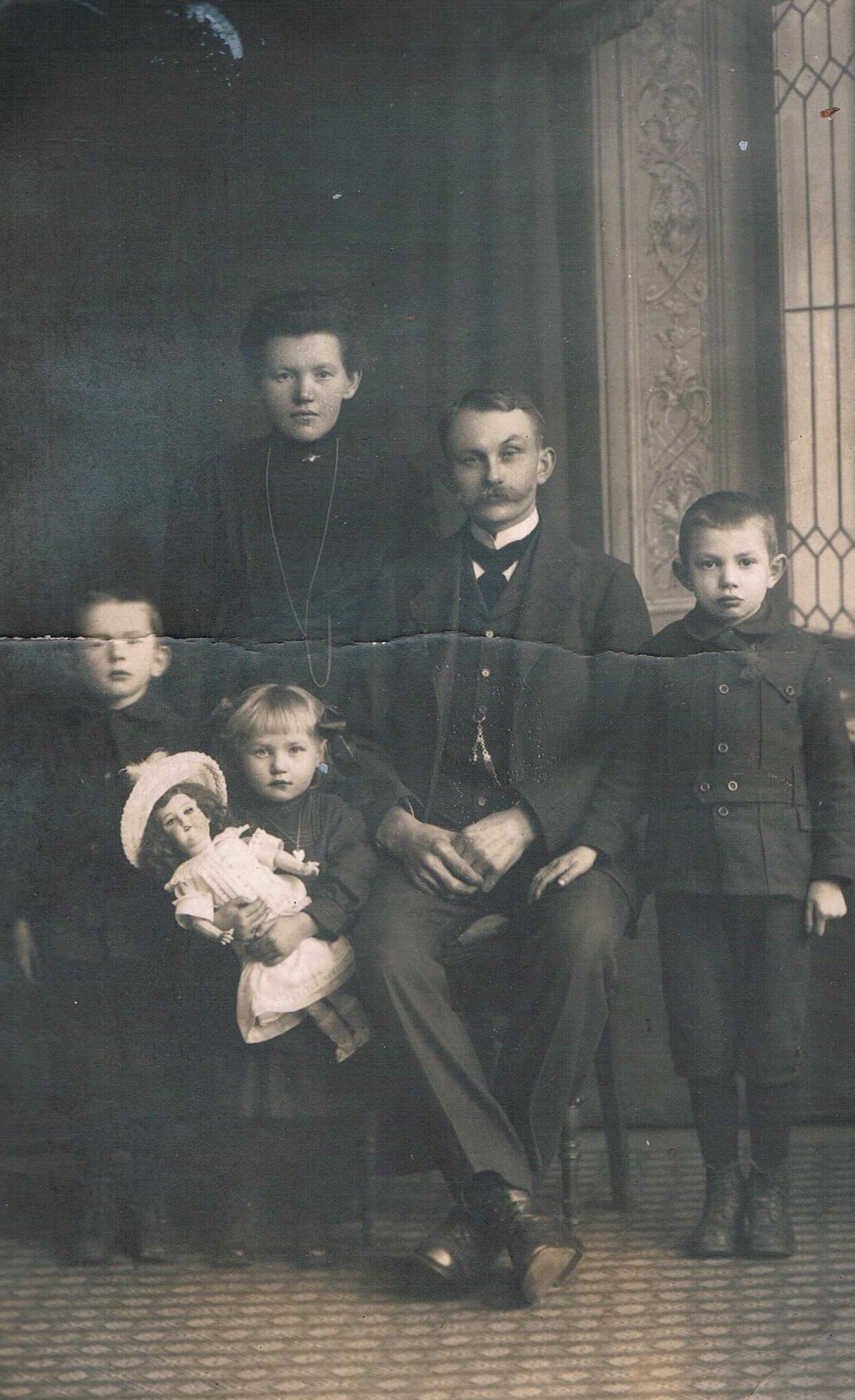 Alte Familienfotos