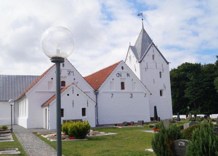 Sankt Clemens Kirche auf Rømø