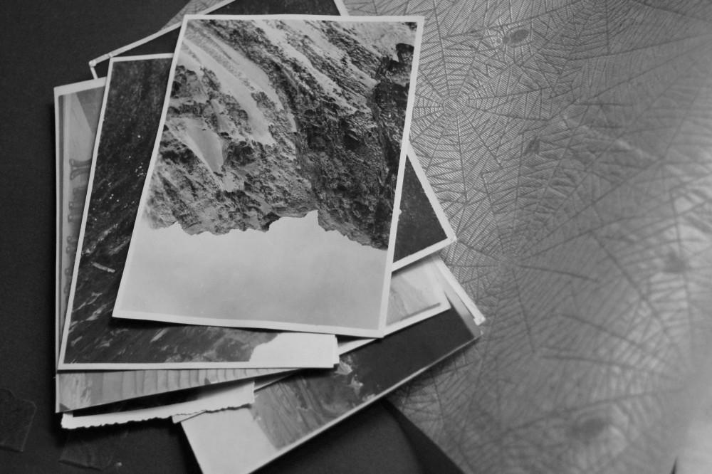 Alte Fotosammlung