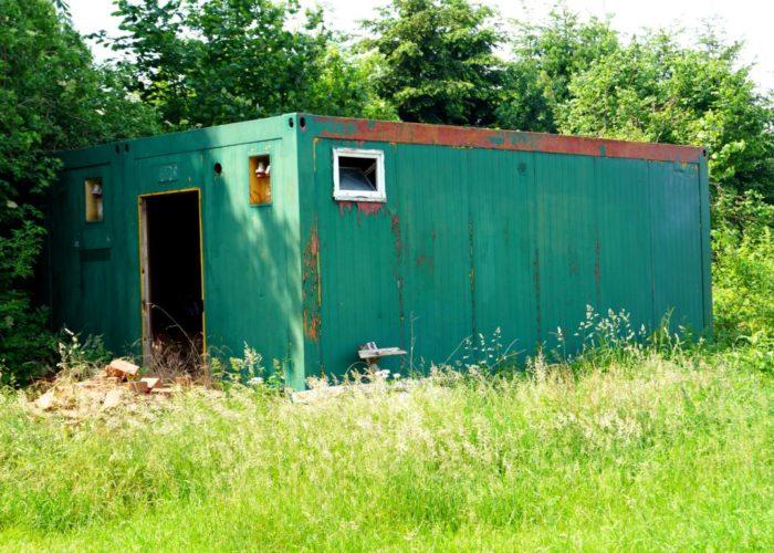 Grüne Bilder: Container