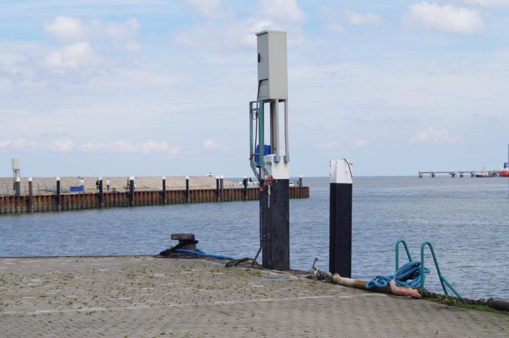 Strand Hooksiel: Außenhafen