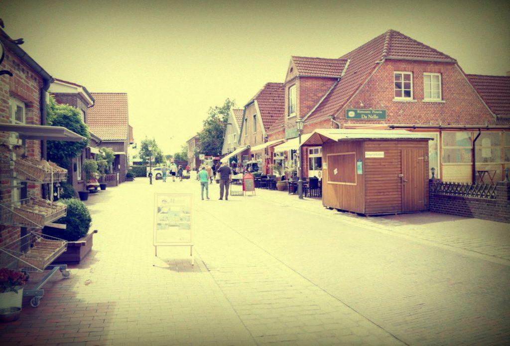 Hooksiel Promenade