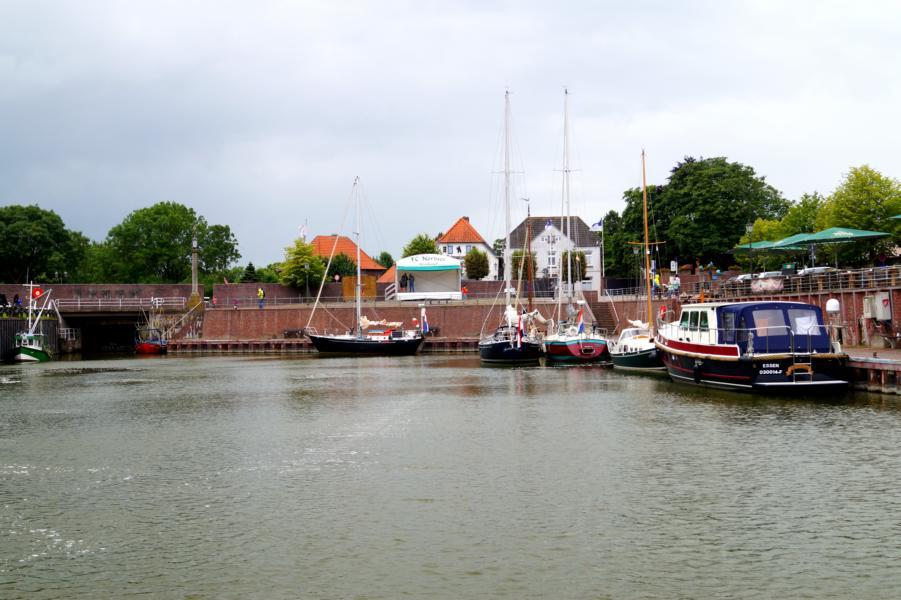 Hooksiel: Alter Hafen