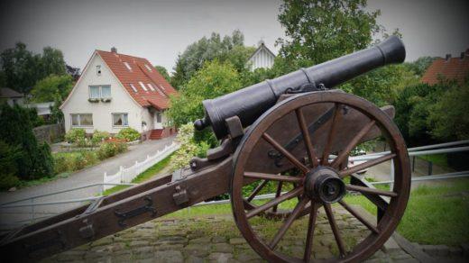 Hooksiel Geschütz