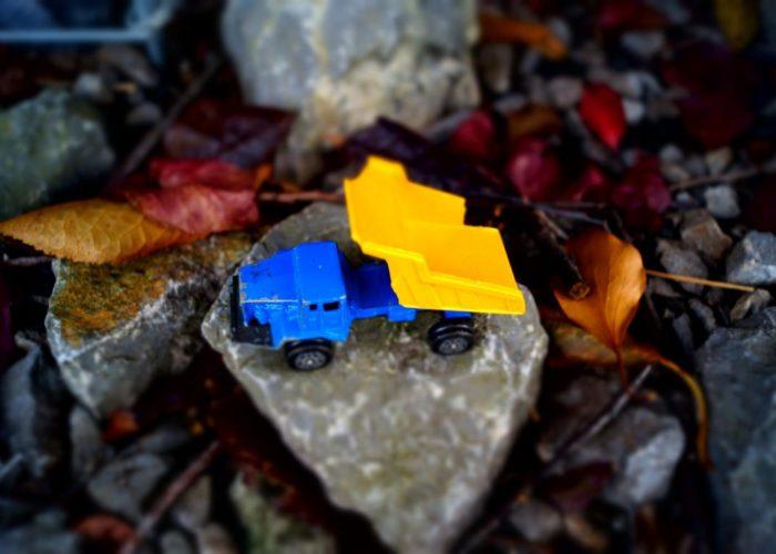 Miniatur Bauwagen