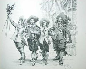"Musketier-Rock: Die ""echten"" Musketiere"