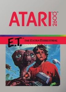 Cover des Videospiels E.T. the Extra-Terrestrial