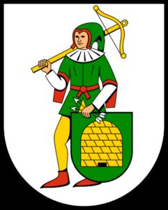 Bewaffnete Wappen: Wappen von Feucht