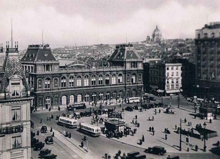 Zeitreise: Gare du Nord