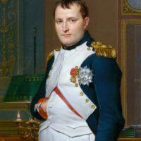Napoleon mit Hand in der Weste