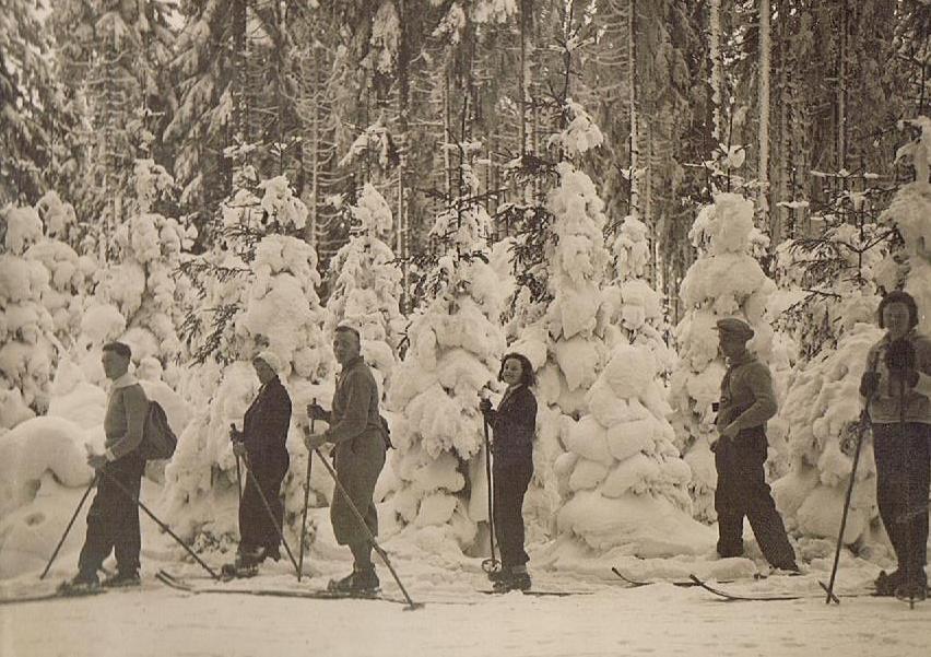 Alte Winterfotos: 1930er