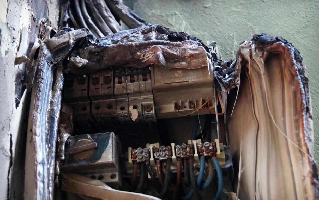 Dumm gelaufen: Elektrobrand
