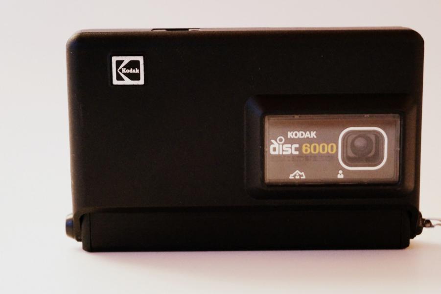 Kodac Disc 6000: Geschlossene Klappe