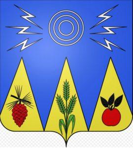 Nartürliche Wappen: Wappen von Mayet