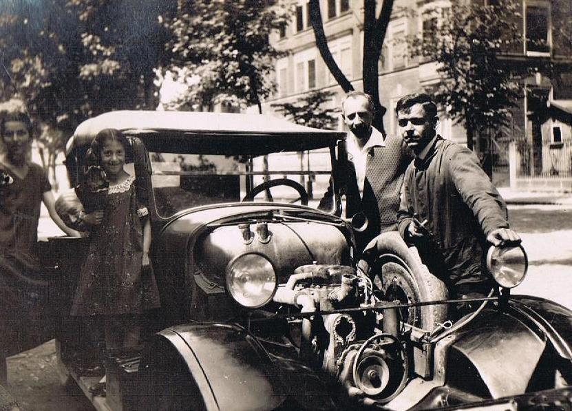 Bildergeschichten: Auto in den 1920er Jahren