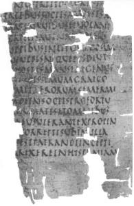 Antike Quellen: Fragment der Historiae Sallusts