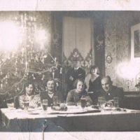 Alte Weihnachtskarte: Echtfotopostkarte