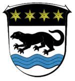 Wappentier: Otter von Ottrau