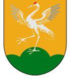 Wappentier: Kranich von Tranas