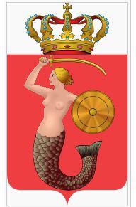 Personen auf Wappen: Warschauer Seejungfer