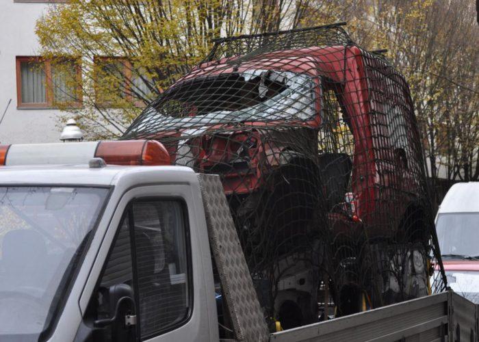 Dumm gelaufen: Unfall