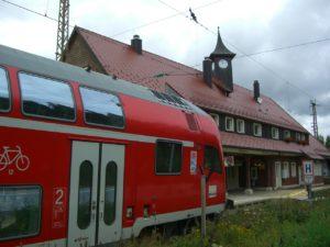 Aussteigen: Zug