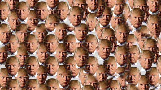 Zu viel Trump