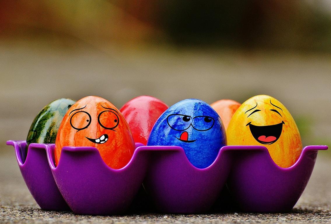 Witz über Eier