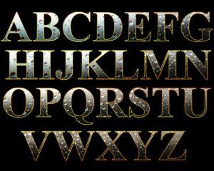 Leipogramm: Buchstaben