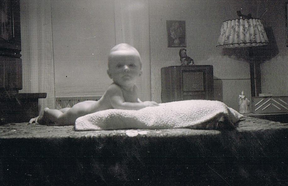 Alte Kinderfotos: Baby