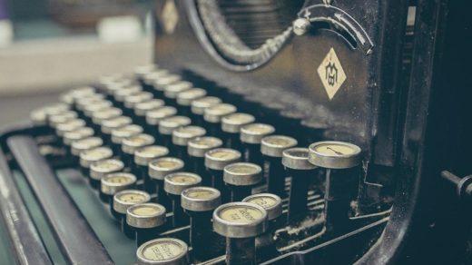 Leipogramm: Schreibmaschine