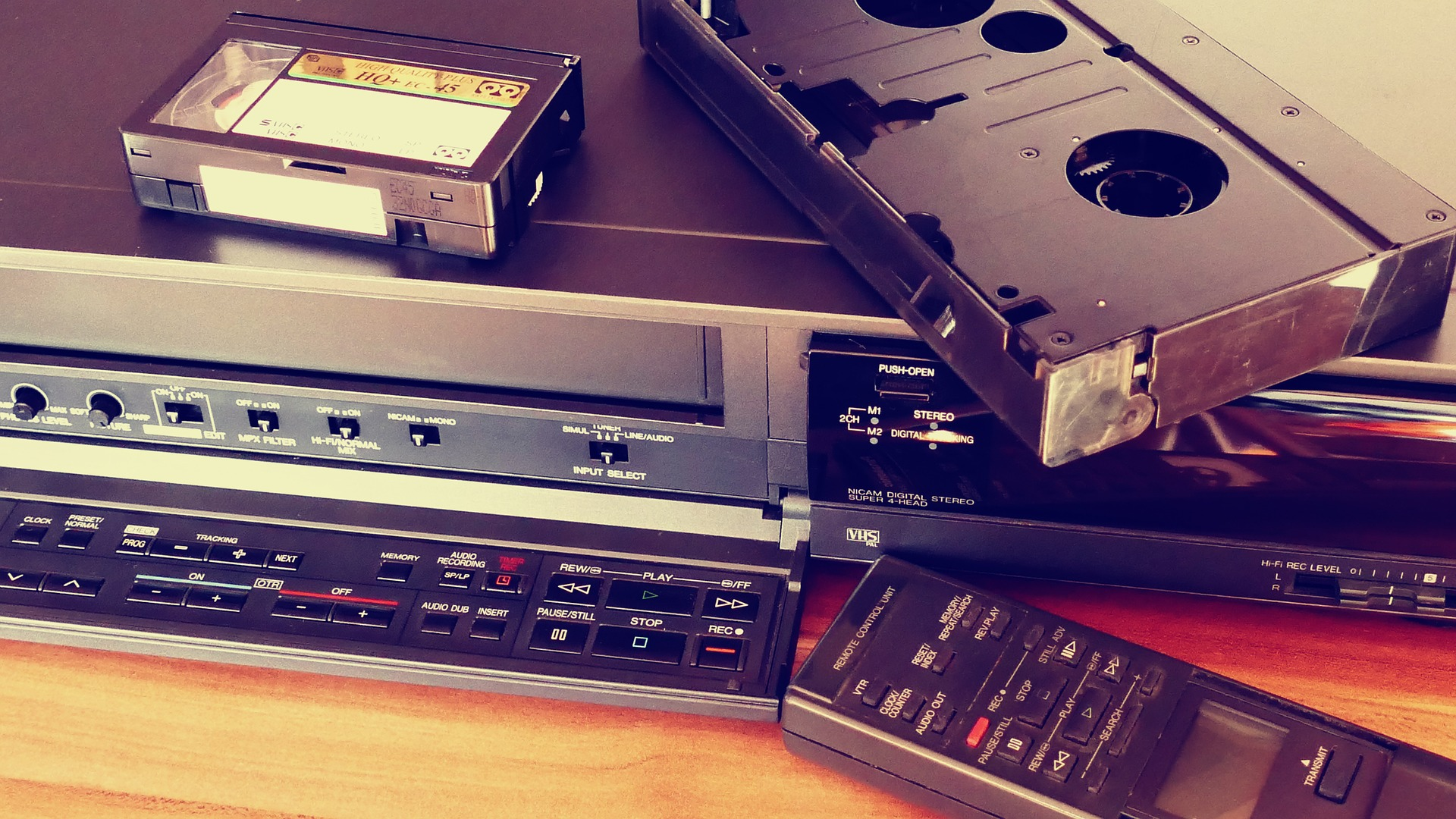 Videokassetten: Retro